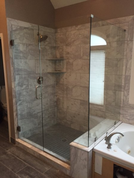 Shower Doors  Enclosures Olathe Glass Co  Custom Glass  Mirrors  Shower Doors Enclosures