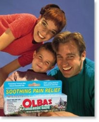 Olbas Analgesic Salve Soothes Sunburn Pain!