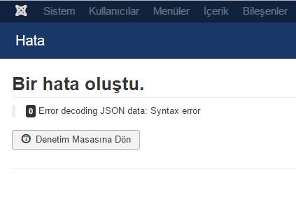0 Error decoding JSON data: Syntax Error