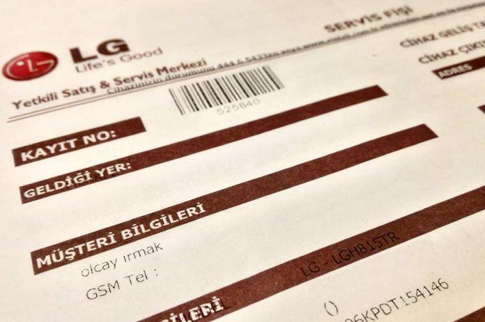 LG G4 Servis & Değişim & Hakem Heyeti & Para İadesi