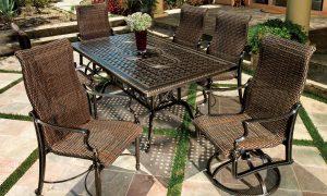 outdoor patio furniture in palm desert