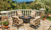 outdoor patio furniture in palm