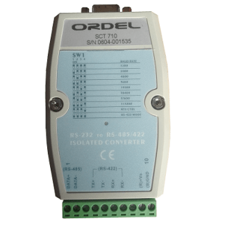 Ordel SCT710 RS232 to RS485 Çevirici