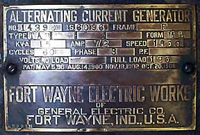 3 Phase Electric Panel Wiring Diagram General Electric Generator And Slate Switch Meter Panel