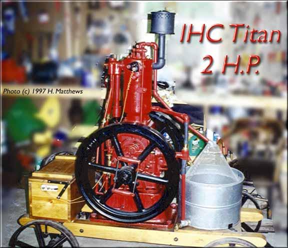 International Harvester Engines