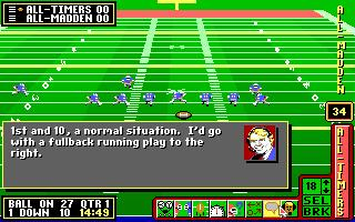 John Madden Football Ii Download 1991 Sports Game