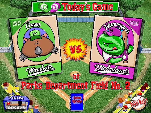 backyard baseball 1997 free version