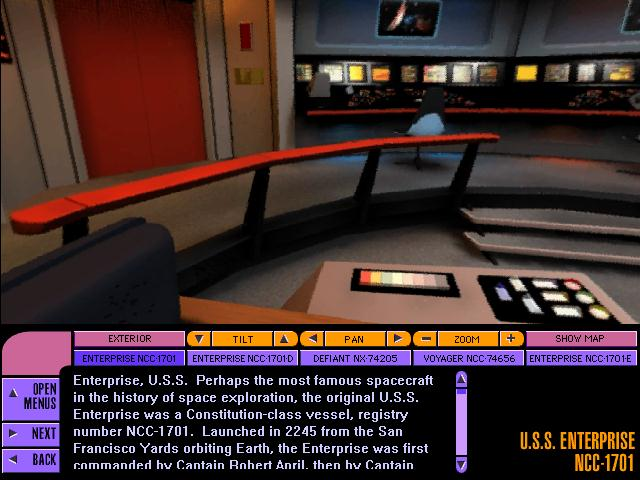 star trek captain s chair plans christmas covers ebay download 1997 adventure game screenshot 4