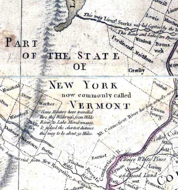 Regional Maps Northeastern Vermont Samples