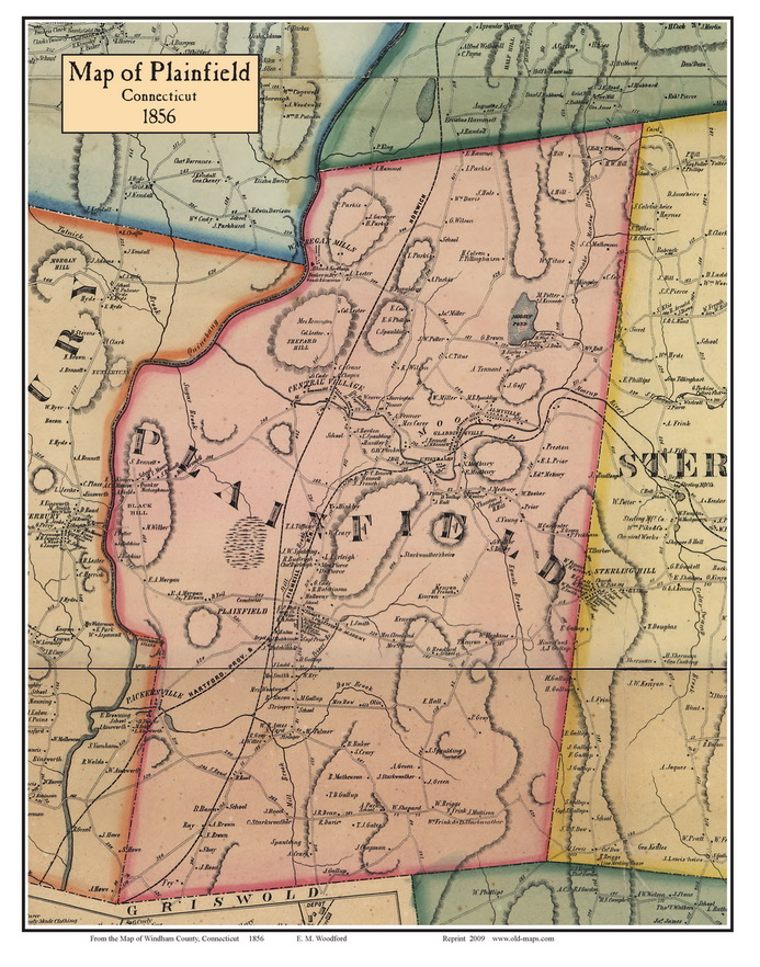 Towns Windham County Connecticut