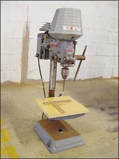 Antique Drill Press Value