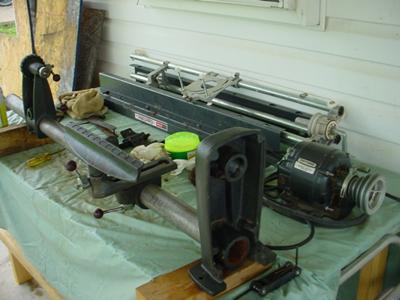 Wood Lathe Copier