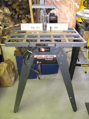 Craftsman Wood Shaper Model 113.239420