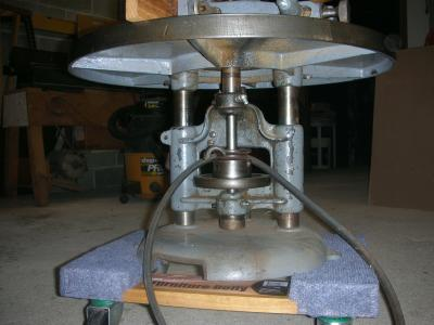 Shaper with Delta 1 HP Repulsion Induction motor