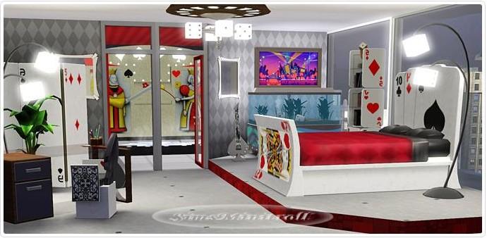 Les Sims 3 Store Set Octobre 2011 Chambre Viva Las