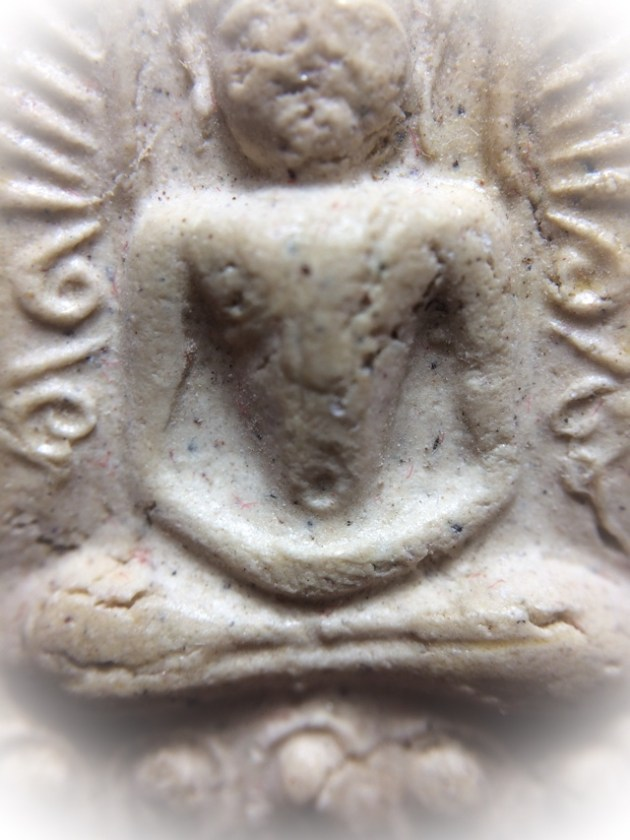Central Section Closeup Pra Sum Gor Nuea Jindamanee Luang Phu Tim - released at Wat Pai Lom 2513 BE