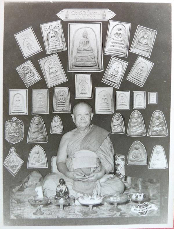 Luang Phu Nak & his Amulets