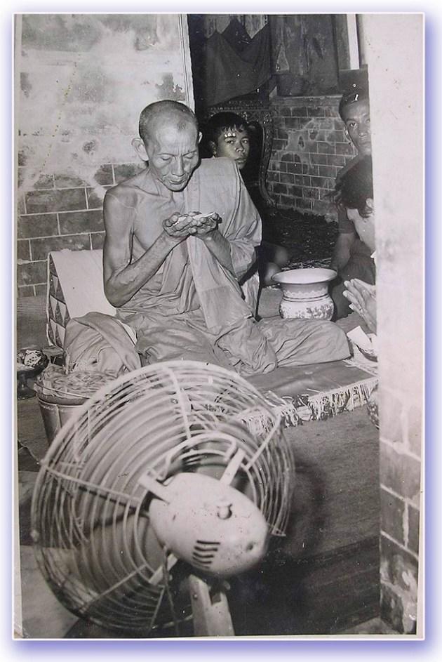 Luang Por Guay empowering amulets at Wat Kositaram