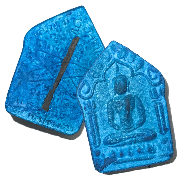 Pra Khun Phaen 2515 Luang Phu Tim Rare Blue Version