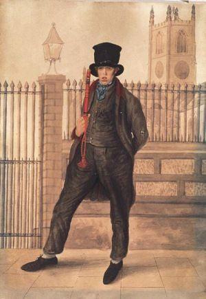 Metropolitan Policeman, 1829-ish