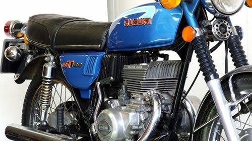 Suzuki GT 185 RAM air