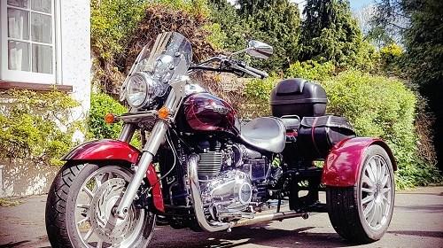Triumph,Trike,Bonneville,