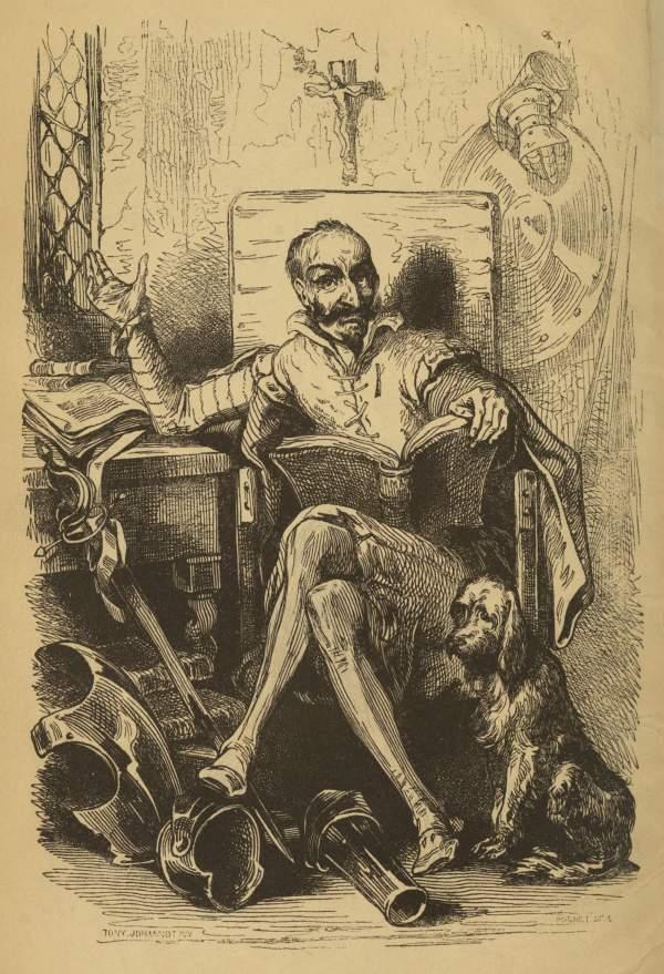 Don Quixote Book Illustrations