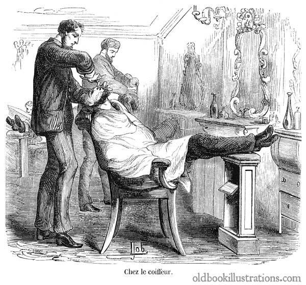 Barber Book Illustrations