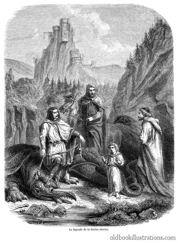 Dragon Roche-maurice Legend Book