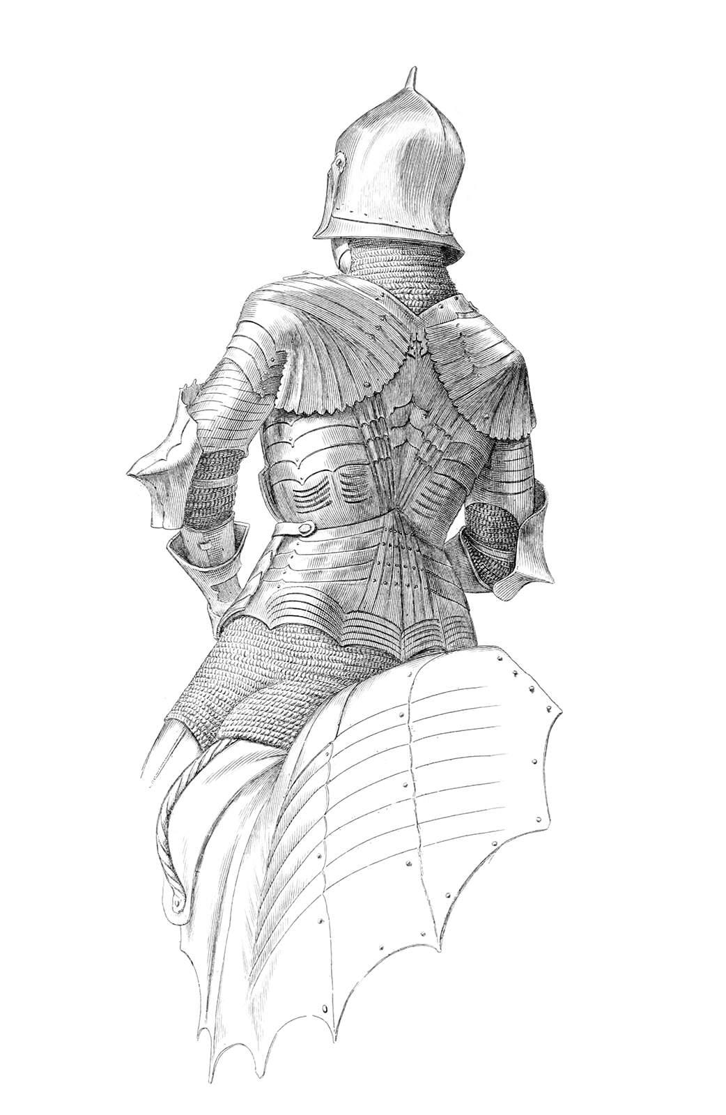 German Suit of Armor (Back)