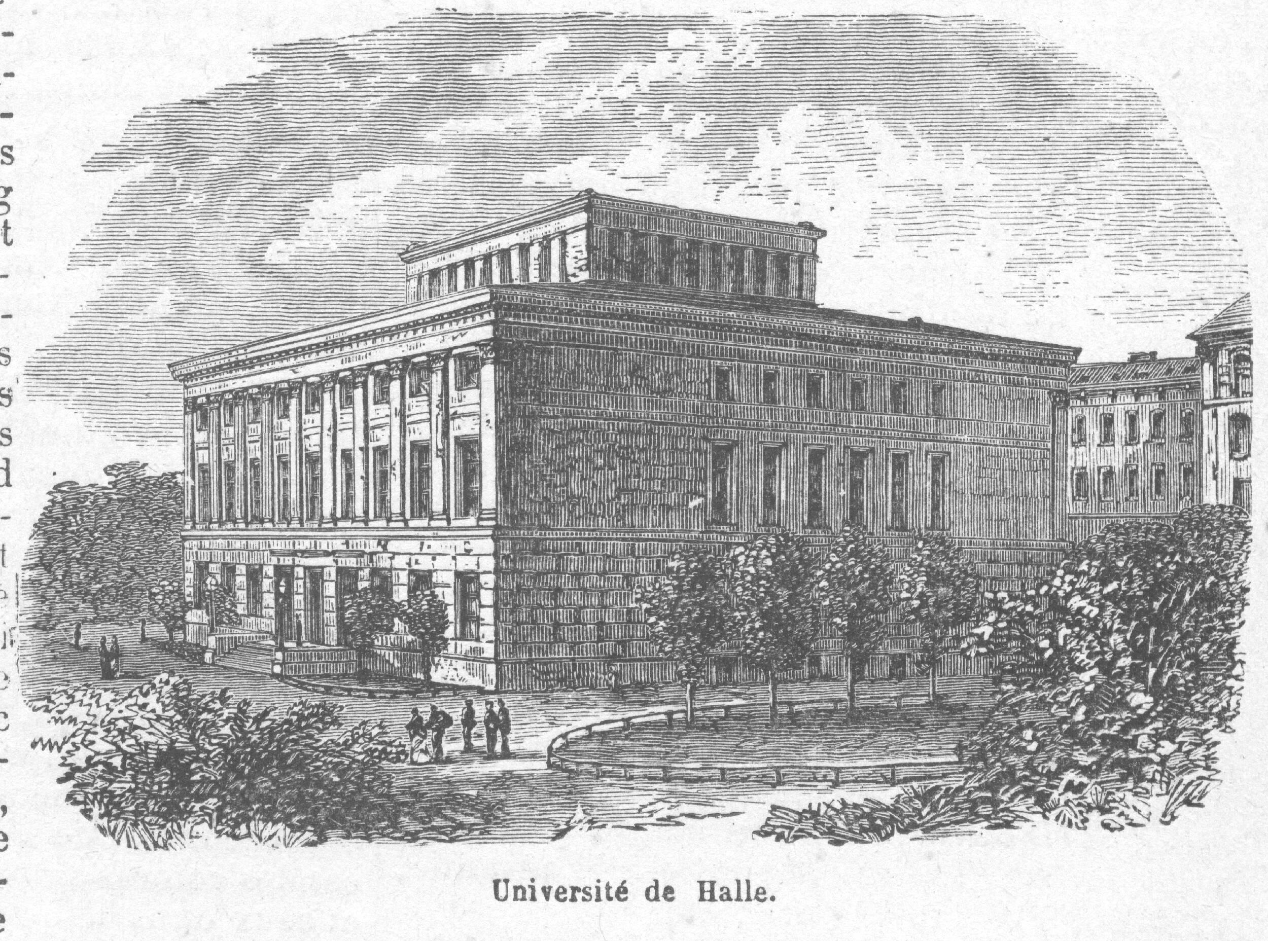 Halle University  Old Book Illustrations