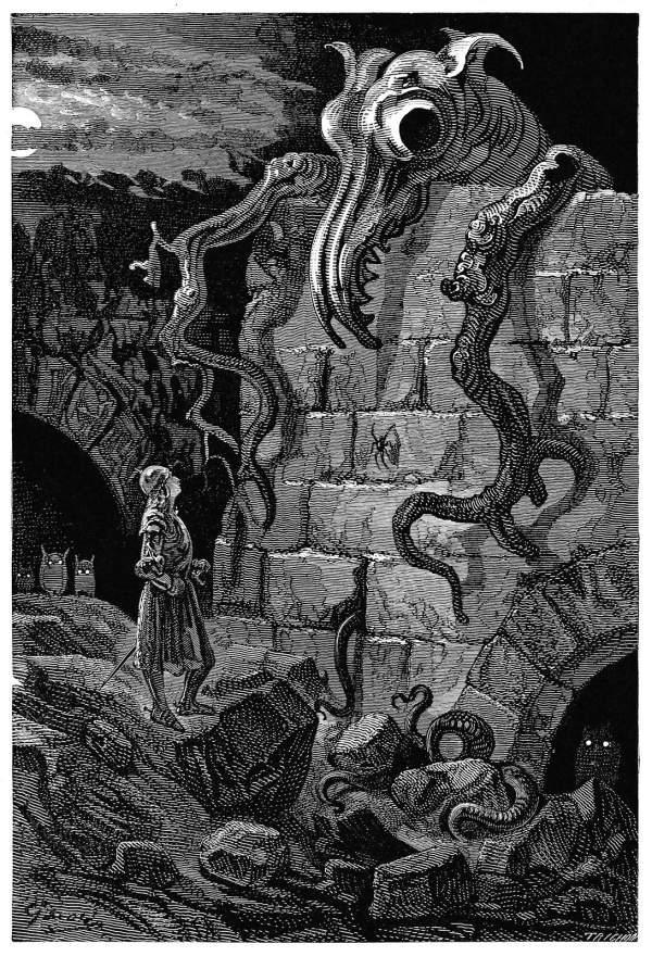 Gnarled Monster Book Illustrations