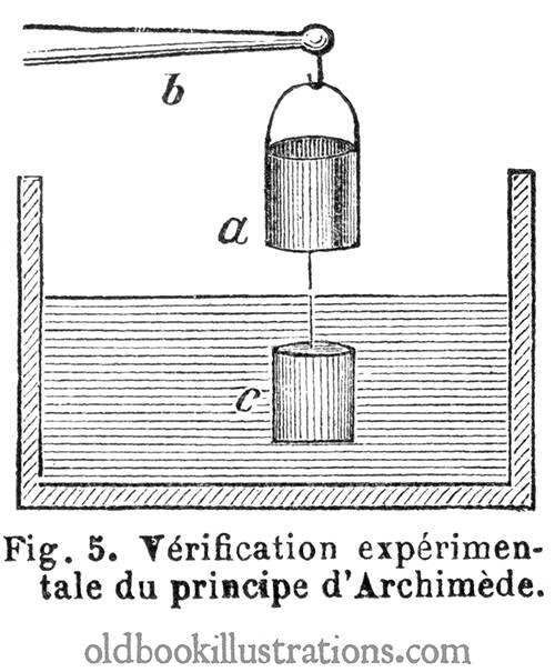 Verification of Archimedes' Principle