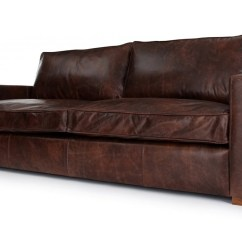 Really Comfy Sofa Bed Uk Cotton Throws Indian Battersea   Vintage Leather 3 Seater ...