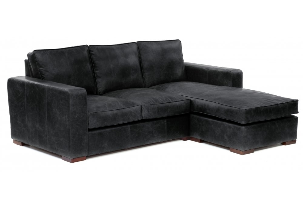 Leather Chaise End Sofa