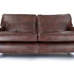 Distressed Leather Corner Sofa Uk Deep Sleeper Vintage Sofas Handmade Luxury Old Boot Howard Large 2 Seat