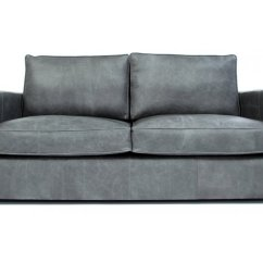 2 Seat Sofa Bed Uk Macys Sleeper Battersea | Vintage Leather Small Seater From Old ...