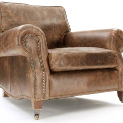 Distressed Leather Armchair Uk French Arm Chair Club Chairs Wingback Old Boot Sofas Hepburn