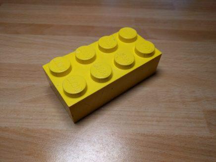 Un Jumbo Brick europeo.