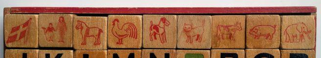 Le figure sui primi nove cubi.