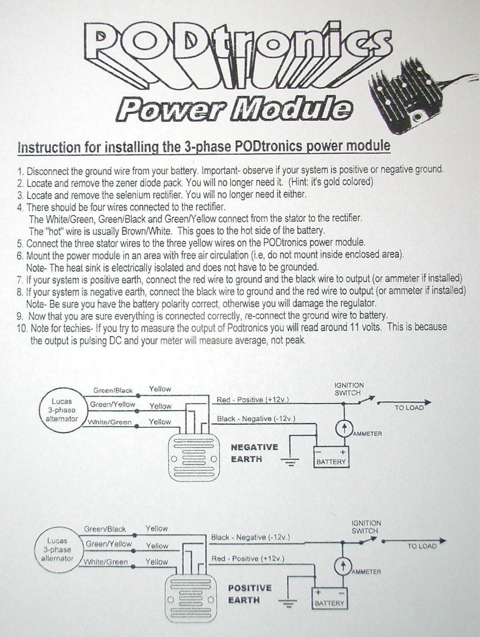 medium resolution of podtronics wiring diagram wire management wiring diagram podtronics wiring diagram source podtronics regulator rectifier