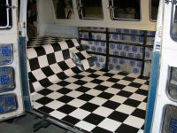 Checkerboard Vinyl Flooring - Carpet Vidalondon