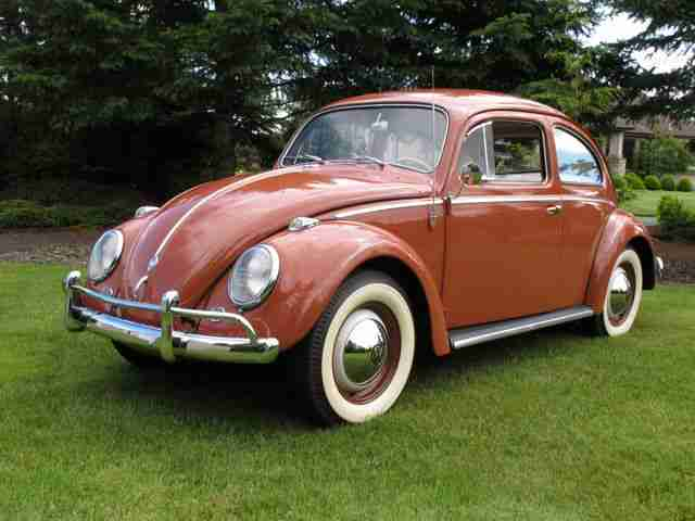 1958 vw beetle sedan
