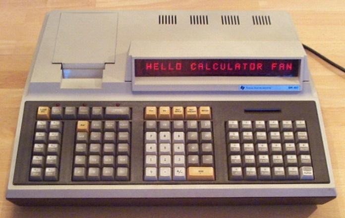 Texas Instruments Sr 60 Sr 60a Programmable Scientific Desktop Calculator