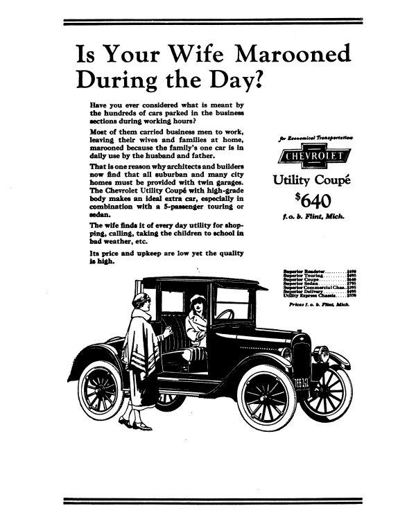 1923 Chevrolet Ad-20