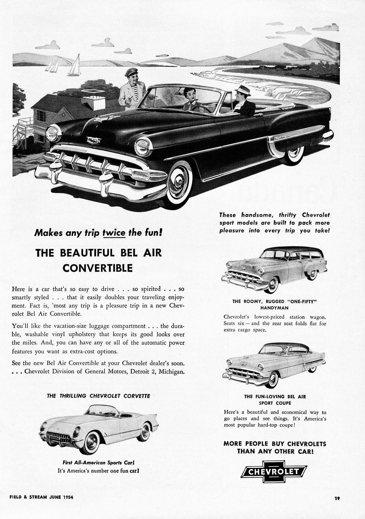 1954 Chevrolet Ad-17