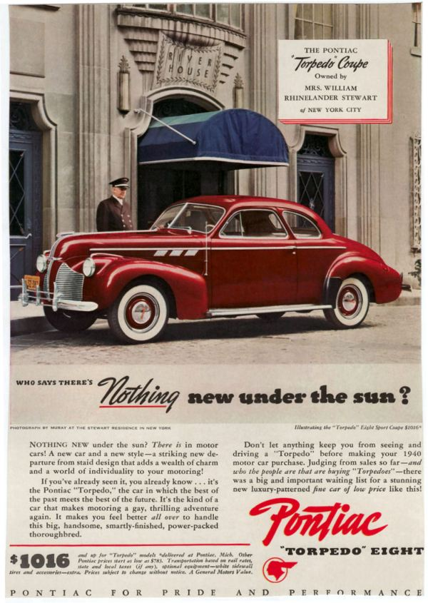 Vintage 1940s Car Ads - Year of Clean Water