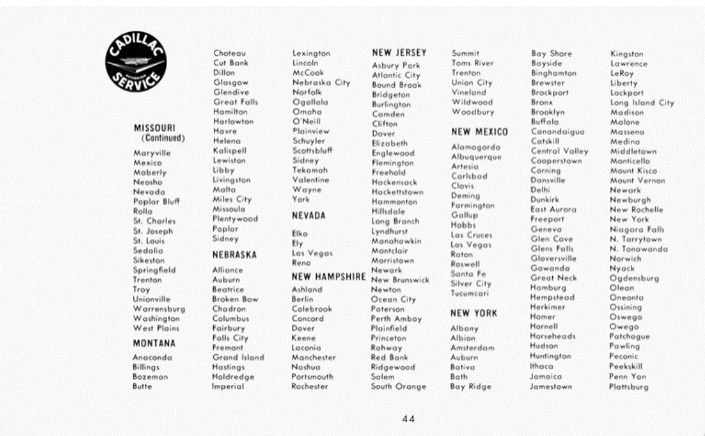 1959 Cadillac Owners Manual