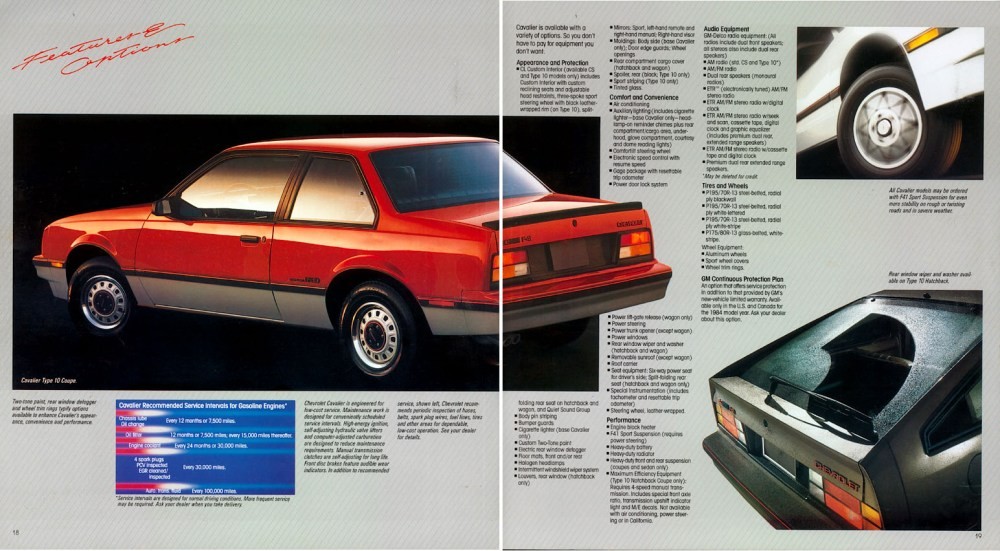medium resolution of 1984 chevrolet cavalier 10