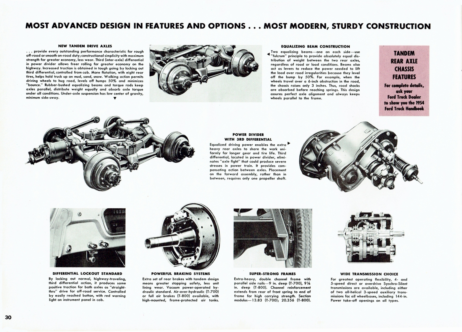1954 Ford Trucks Full Line Brochure